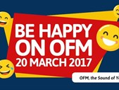 "Afternoon Delight: Today on ""The Issue"" - Be happy day on OFM 