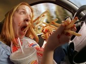 "Afternoon Delight: Today on ""The Issue"" - Eating while driving 