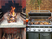 "Afternoon Delight: ""The Issue"" - Gas Braai or Wood Braai? 