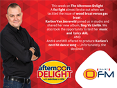 Afternoon Delight: The Best Of The Afternoon Delight 17-21 April 2017  | Blog Post