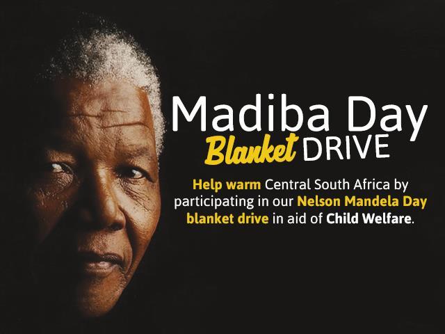 Nelson Mandela Day Blanket Drive