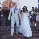 The Bliss: Bride cannot contain her laugh while groom shows off his best dance moves | Blog Post