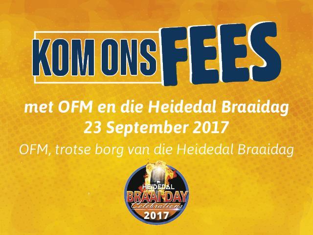Heidedal Braai Day Celebration 2017