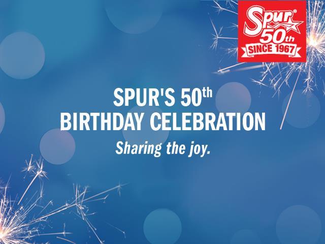 Spur's 50th Birthday