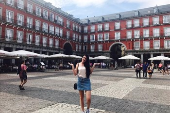 The Bliss: Crossing oceans #Madrid; Spain | Blog Post