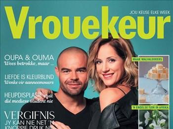 Vrouekeur - Die een met Christel van den Bergh & David Louw op die voorblad | Blog Post