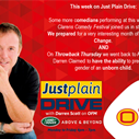 The Best of Just Plain Drive 1 - 5 October 2018   Blog Post
