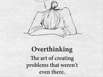 How to stop Overthinking | Blog Post