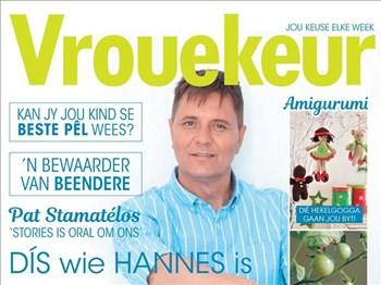 Vrouekeur - Die een met Hannes van Wyk op die voorblad | Blog Post