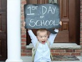 """-TBB- Duncan celebrates the """"First day of School"""" with Grade 1's (Part 1) 