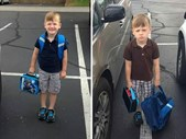 """-TBB- Duncan celebrates the """"First day of School"""" with Grade 1's (Part 2) 