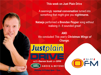 The Best Of Just Plain Drive 10 - 14 December 2018  | Blog Post