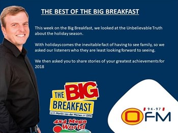 -TBB- The Best of The Big Breakfast 10-14 December  | Blog Post