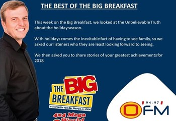 -TBB- The Best of The Big Breakfast 10-14 December  | News Article