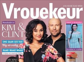 Vrouekeur - Die een met Binnelanders se Kim & Clint op die voorblad | Blog Post