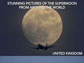 Saturday Express: Pictures of the supermoon from all around the world | Blog Post