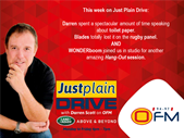 The Best Of Just Plain Drive 12-16 March 2018 | Blog Post