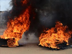 #NWprotests flare up in Taung and Delareyville   News Article
