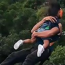 Dad bungee jumps with his toddler | Blog Post
