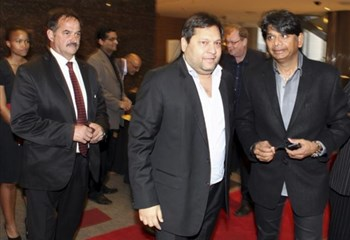 WATCH: Ajay #Gupta denies being a fugitive | News Article