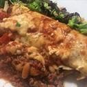 COLUMN: Ilse Cooks the Books (Baked Beef and Bean Burritos) | Blog Post