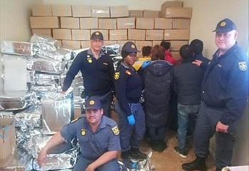 NC police pounce on counterfeit factory worth R77 mln | News Article