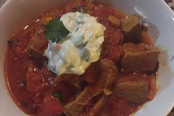 Ilse Cooks the Books: Mauritian Beef Rougail with Cucumber Dhal  | Blog Post