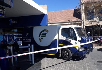 #BreakingNews: Luxury car involved in cash-in-transit heist in Bfn raises questions | News Article
