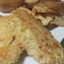 Ilse Cooks the Books: Parmesan Crusted Hake | Blog Post