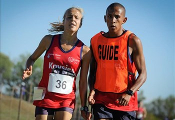 Coetzee targets the T11 marathon world record | News Article