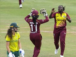 Windies hand South Africa 17-run loss | News Article
