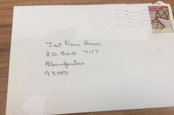 Just Plain Drive: 'Send your brief around' - We have received our first letter | Blog Post