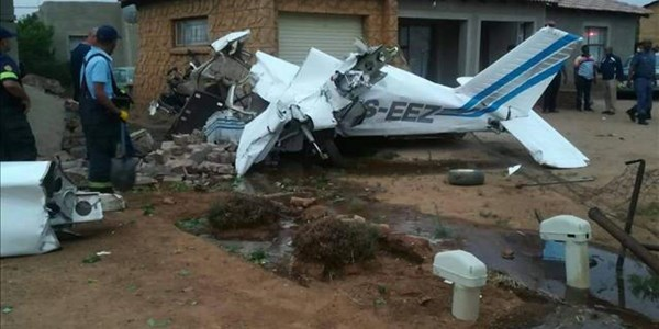 Plane crashes in North West | News Article