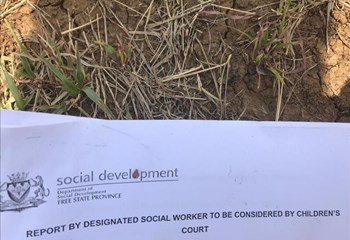 FS Social Development probes documents dumped in Thaba Nchu field | News Article