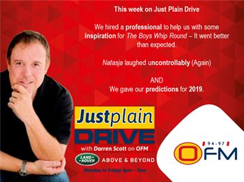 The Best Of Just Plain Drive 7 - 11 January 2019 | Blog Post