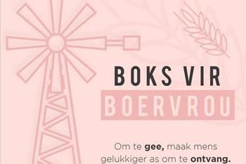 #LandbouHoop: Boks vir 'n Boervrou - Wellington VLV | Blog Post