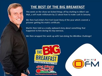-TBB- The Best of the Big Breakfast 7-11 January | Blog Post