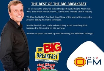 -TBB- The Best of the Big Breakfast 7-11 January | News Article