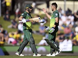 Pakistan a good challenge in ODI's – Du Plessis    News Article