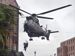 SA Air Force helicopters airlift stranded Pretoria residents | News Article
