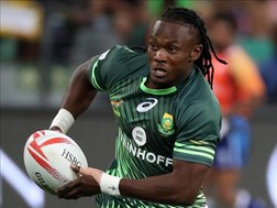 Returning Senatla scores the Blitzboks winnner against Kenya | News Article