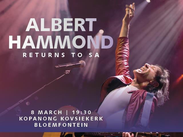 OFM in concert with Albert Hammond