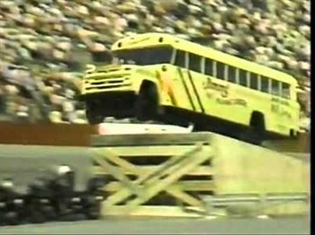 Want to see a bus jump over 20 motorcycles? Of course you do!  | Blog Post