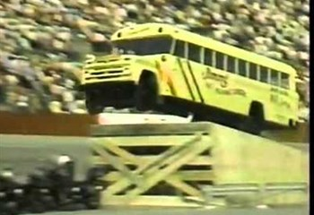 Want to see a bus jump over 20 motorcycles? Of course you do!  | News Article