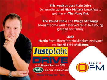The Best Of Just Plain Drive 11 - 15 March 2019 | Blog Post