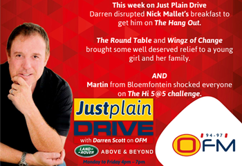 The Best Of Just Plain Drive 11 - 15 March 2019 | News Article