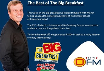 -TBB- The Best of The Big Breakfast 11-15 March | News Article