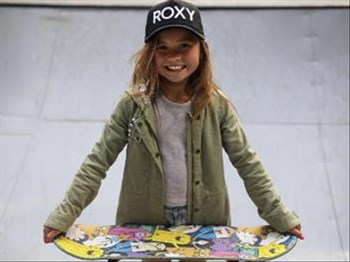 Meet the 9 year old skateboarding girl!  | Blog Post