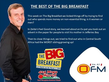 -TBB- The Best of The Big Breakfast 8-12 April   Blog Post
