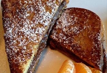 Your Weekend Breakfast Recipe - Nutella®-Stuffed French Toast | News Article